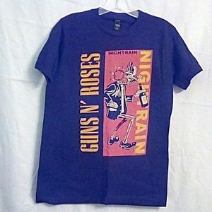 Guns & Roses Night Train T-Shirt Small